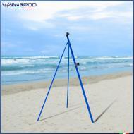 Picchetto con Gambe Alluminio 150 cm. Elite Blue